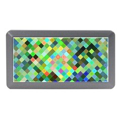 Pixel Pattern A Completely Seamless Background Design Memory Card Reader (mini)