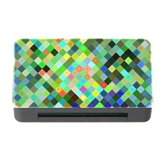 Pixel Pattern A Completely Seamless Background Design Memory Card Reader With Cf