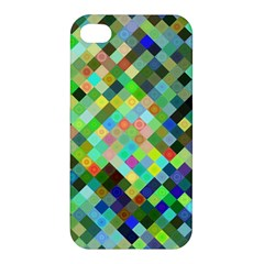Pixel Pattern A Completely Seamless Background Design Apple Iphone 4/4s Hardshell Case