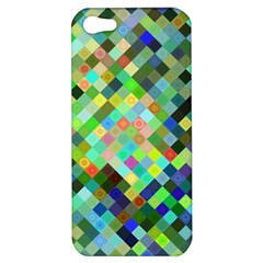 Pixel Pattern A Completely Seamless Background Design Apple Iphone 5 Hardshell Case