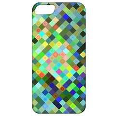 Pixel Pattern A Completely Seamless Background Design Apple Iphone 5 Classic Hardshell Case