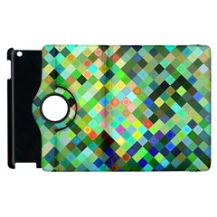 Pixel Pattern A Completely Seamless Background Design Apple Ipad 2 Flip 360 Case