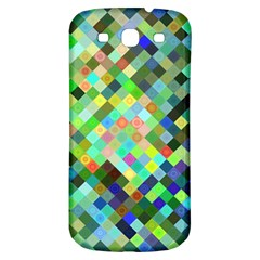 Pixel Pattern A Completely Seamless Background Design Samsung Galaxy S3 S Iii Classic Hardshell Back Case