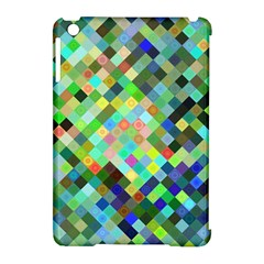 Pixel Pattern A Completely Seamless Background Design Apple Ipad Mini Hardshell Case (compatible With Smart Cover)