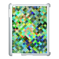 Pixel Pattern A Completely Seamless Background Design Apple Ipad 3/4 Case (white)