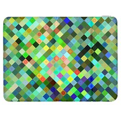 Pixel Pattern A Completely Seamless Background Design Samsung Galaxy Tab 7  P1000 Flip Case