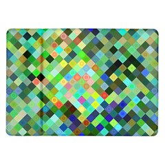 Pixel Pattern A Completely Seamless Background Design Samsung Galaxy Tab 10 1  P7500 Flip Case