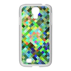 Pixel Pattern A Completely Seamless Background Design Samsung Galaxy S4 I9500/ I9505 Case (white)
