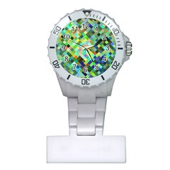 Pixel Pattern A Completely Seamless Background Design Plastic Nurses Watch