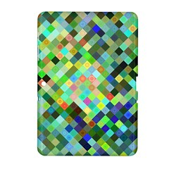 Pixel Pattern A Completely Seamless Background Design Samsung Galaxy Tab 2 (10 1 ) P5100 Hardshell Case