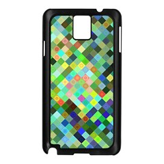 Pixel Pattern A Completely Seamless Background Design Samsung Galaxy Note 3 N9005 Case (black)