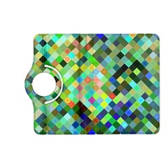 Pixel Pattern A Completely Seamless Background Design Kindle Fire Hd (2013) Flip 360 Case