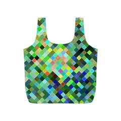 Pixel Pattern A Completely Seamless Background Design Full Print Recycle Bags (s)