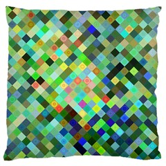 Pixel Pattern A Completely Seamless Background Design Standard Flano Cushion Case (two Sides)