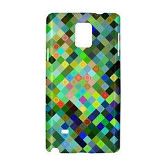 Pixel Pattern A Completely Seamless Background Design Samsung Galaxy Note 4 Hardshell Case