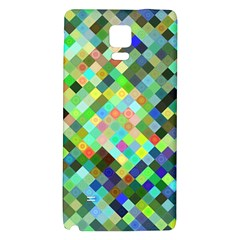 Pixel Pattern A Completely Seamless Background Design Galaxy Note 4 Back Case
