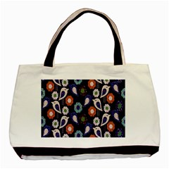 Cute Birds Seamless Pattern Basic Tote Bag (two Sides)