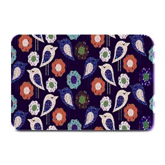 Cute Birds Seamless Pattern Plate Mats