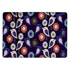 Cute Birds Seamless Pattern Samsung Galaxy Tab 10 1  P7500 Flip Case
