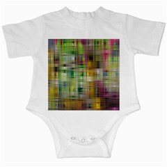 Woven Colorful Abstract Background Of A Tight Weave Pattern Infant Creepers