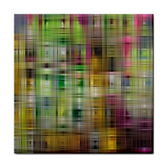 Woven Colorful Abstract Background Of A Tight Weave Pattern Face Towel