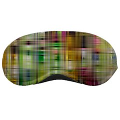 Woven Colorful Abstract Background Of A Tight Weave Pattern Sleeping Masks