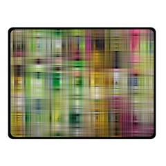 Woven Colorful Abstract Background Of A Tight Weave Pattern Fleece Blanket (small)