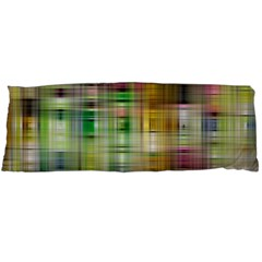 Woven Colorful Abstract Background Of A Tight Weave Pattern Body Pillow Case (dakimakura)