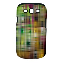 Woven Colorful Abstract Background Of A Tight Weave Pattern Samsung Galaxy S Iii Classic Hardshell Case (pc+silicone)