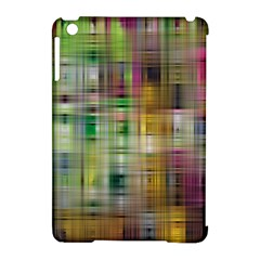 Woven Colorful Abstract Background Of A Tight Weave Pattern Apple Ipad Mini Hardshell Case (compatible With Smart Cover)