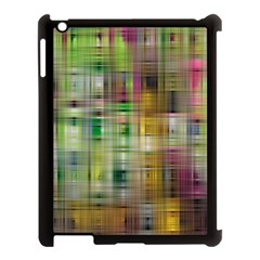 Woven Colorful Abstract Background Of A Tight Weave Pattern Apple Ipad 3/4 Case (black)