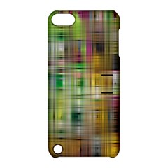 Woven Colorful Abstract Background Of A Tight Weave Pattern Apple Ipod Touch 5 Hardshell Case With Stand