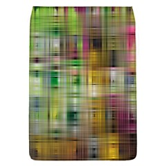 Woven Colorful Abstract Background Of A Tight Weave Pattern Flap Covers (s)