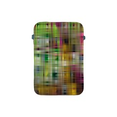 Woven Colorful Abstract Background Of A Tight Weave Pattern Apple Ipad Mini Protective Soft Cases
