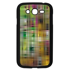 Woven Colorful Abstract Background Of A Tight Weave Pattern Samsung Galaxy Grand Duos I9082 Case (black)