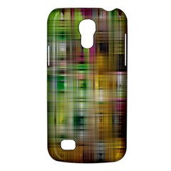 Woven Colorful Abstract Background Of A Tight Weave Pattern Galaxy S4 Mini