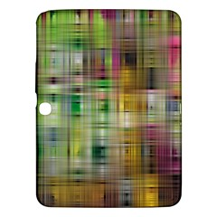 Woven Colorful Abstract Background Of A Tight Weave Pattern Samsung Galaxy Tab 3 (10 1 ) P5200 Hardshell Case
