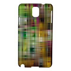 Woven Colorful Abstract Background Of A Tight Weave Pattern Samsung Galaxy Note 3 N9005 Hardshell Case