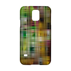 Woven Colorful Abstract Background Of A Tight Weave Pattern Samsung Galaxy S5 Hardshell Case