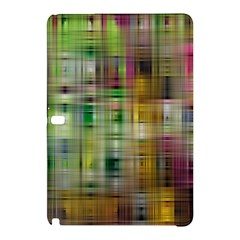 Woven Colorful Abstract Background Of A Tight Weave Pattern Samsung Galaxy Tab Pro 12 2 Hardshell Case