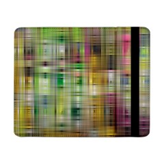 Woven Colorful Abstract Background Of A Tight Weave Pattern Samsung Galaxy Tab Pro 8 4  Flip Case