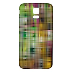 Woven Colorful Abstract Background Of A Tight Weave Pattern Samsung Galaxy S5 Back Case (white)
