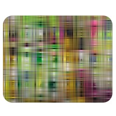 Woven Colorful Abstract Background Of A Tight Weave Pattern Double Sided Flano Blanket (medium)