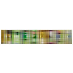 Woven Colorful Abstract Background Of A Tight Weave Pattern Flano Scarf (small)