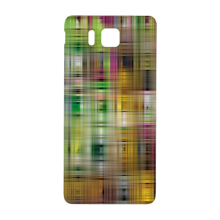 Woven Colorful Abstract Background Of A Tight Weave Pattern Samsung Galaxy Alpha Hardshell Back Case