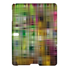 Woven Colorful Abstract Background Of A Tight Weave Pattern Samsung Galaxy Tab S (10 5 ) Hardshell Case