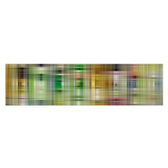Woven Colorful Abstract Background Of A Tight Weave Pattern Satin Scarf (oblong)