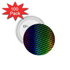 Digitally Created Halftone Dots Abstract 1 75  Buttons (100 Pack)