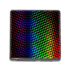 Digitally Created Halftone Dots Abstract Memory Card Reader (square)