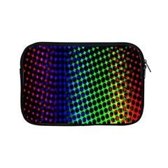 Digitally Created Halftone Dots Abstract Apple Ipad Mini Zipper Cases